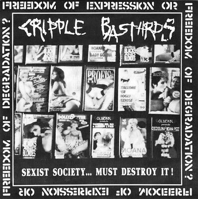 Cripple Bastards / Präparation-H ‎– Sexist Society... Must Destroy It! / It's A