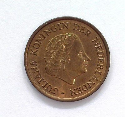 Netherlands 1953 5 Cents  Gem+ Uncirculated Red