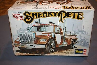 """1977 Revell """"sneaky Pete"""" 1/25Th Scale Model Kit #h-1380, Incomplete, For Parts"""