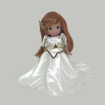 "Precious Moments Disney Parks Exclusive Princess Ariel Christmas 12"" Vinyl Doll"