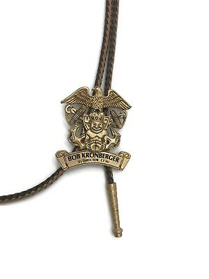 Vintage Royal Order of Jesters Shriners Masons Bolo Tie Billiken Court 161 Named