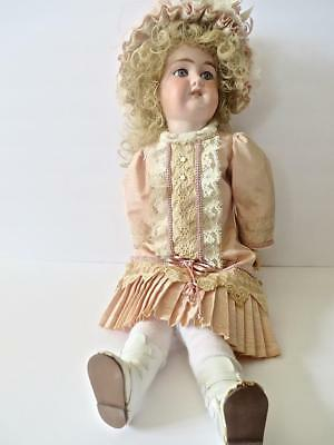 "Antique Florodora Bisque Head Doll 22"" A.9 M. No Reserve Very Nice  Doll #3"
