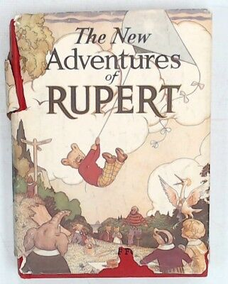 THE NEW ADVENTURES OF RUPERT 1985 Facsimile Edition of 1936 Original #4995 - G18