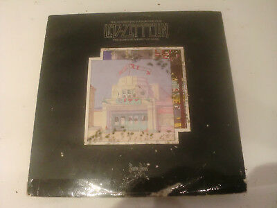 Led Zeppelin -The Song Remains The Same- 2 Lp Gatefold Swan Rec Usa 1976 (Ex)