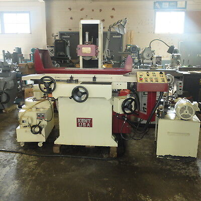 """10"""" x 20"""" Kent 3 Axis Automatic Surface Grinder, Model SGS-1020 AHD, 2000"""