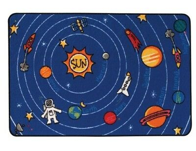 Carpets for Kids 48.54 Spaced Out Rug  4 ft. x 6 ft.