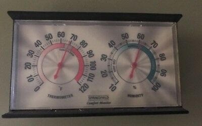 Springfield Comfort Monitor Thermometer & Humidity
