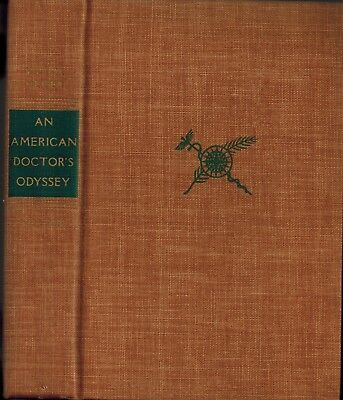 An American Doctor's Odyssey, Victor Heiser Medical Adventures Biography 1st Edn