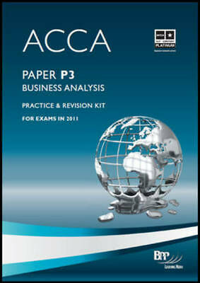 ACCA - P3 Business Analysis: Revision Kit by BPP Learning Media Ltd (Paperback