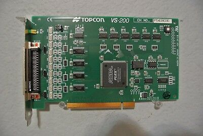Topcon Vs-200 Pci Pc Interface Card Nw6S 4451021010 Fundus For Retinal Camera