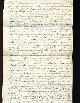 1792 CONNECTICUT Legal Writ for ICHABOD WELLS, Signed Rev War Col. THOS. SEYMOUR