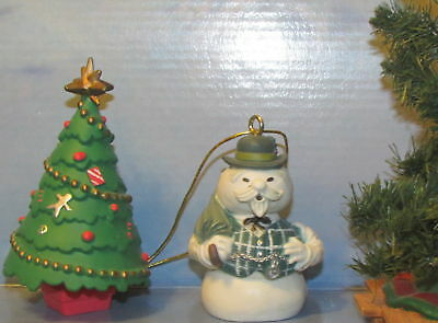 "Rudolph Island of Misfit Toys Sam the Snowman 2.5"" PVC Ornament Figure Figurine"