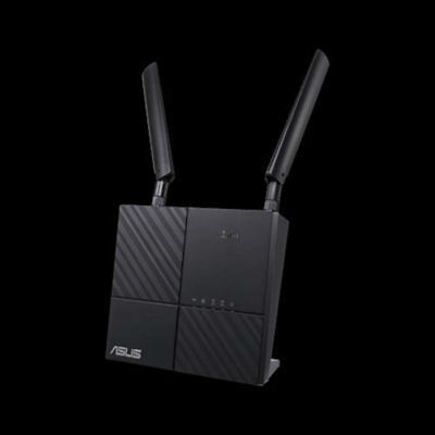 ASUS 4G-AC53U AC750 Dual-Band LTE Wi-Fi Modem Router, features 4G LTE Category 6