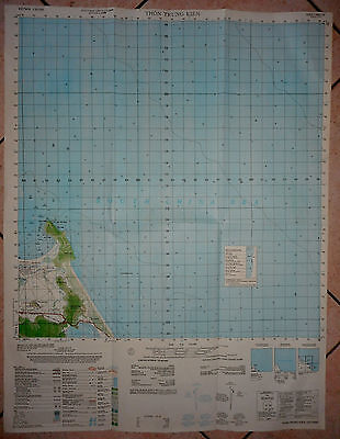 6641 iv - SOUTH CHINA SEA - JUNE 1974 - MAP - US NAVY - THUA THIEN, Vietnam War