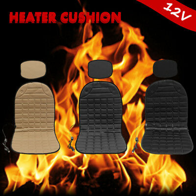 12V Car Auto Front Seat Hot Heated Pad Cushion Warmer Heating Protectors Cover