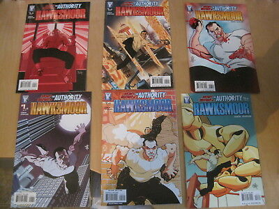 SECRET HISTORY of the AUTHORITY : HAWKSMOOR. COMPLETE 6 issue DC/ WS 2008 series