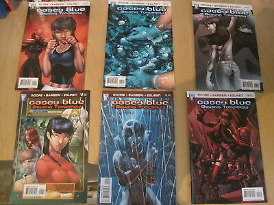 CASEY BLUE : BEYOND TOMORROW. COMPLETE 6 issue DC/ WS 2008 series by MOORE