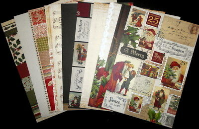KAISERCRAFT Double-sided A4 CHRISTMAS scrapbooking/cardmaking papers