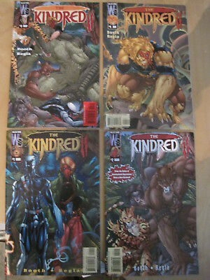 The KINDRED : COMPLETE 4 issue DC/ WILDSTORM 2002 series by BOOTH & REGLA