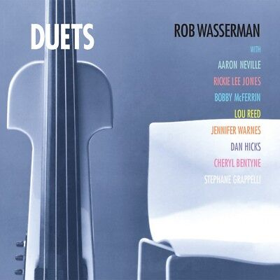 ROB WASSERMAN DUETS APP 118  Analogue Productions 200grams LP 2017 release