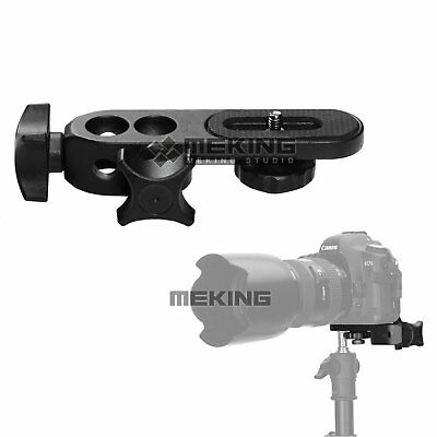 """Selens 1/4"""" Sliding Camera Connection Plate for Photography Video Light Stand"""
