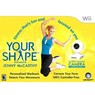Your Shape COMPLETE Nintendo Wii Game