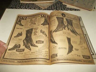 Excellent Vtg 1920 Sears Roebuck & Co Fashion Clothing & Household Items Catalog