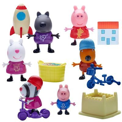 Selection of Play Figures | Peppa Pig | Figure with Accessories