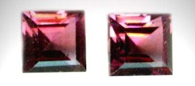 19thC Antique 2ct Norwegian Raspberry Rhodolite Garnet Ancient Persian Royalty