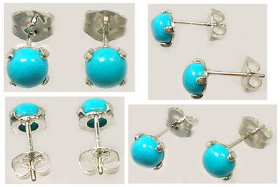 """18thC Antique Persian Turquoise Ancient Persia """"Evil Eye"""" Turban Amulet Sterling"""