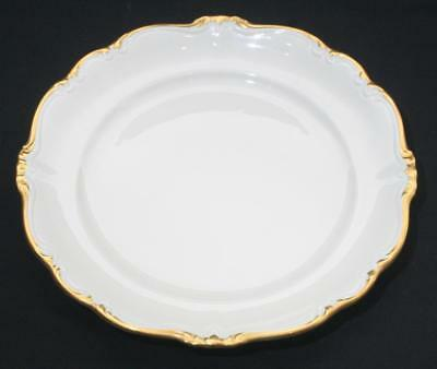 "Superb Rosenthal Pompadour Gilt Cream Side Plate 7 3/4"" in Diameter"