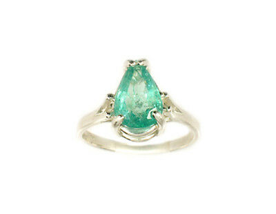 19thC Antique 2ct Siberian Emerald Medieval Shaman Magician Prophecy Evil Spirit