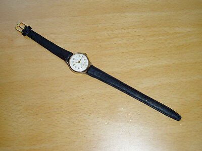 Vintage 375 9ct Gold Verity Incabloc Swiss Made Ladies Watch - Working Order