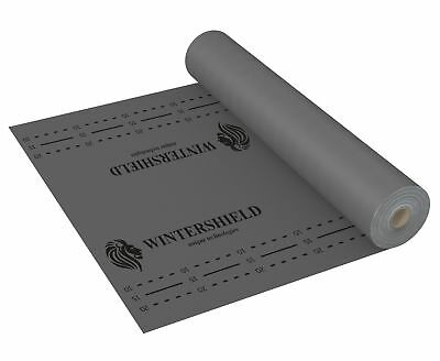 Underlay Sheet with Gittergewebe Strong 75m ²/Membrane Diffusion