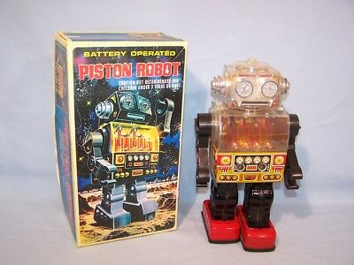 S.J.M. - Piston Robot - Roboter - in Reprobox  (52933)