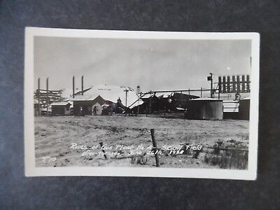 RP Oil Field Ruins of Gas Plant After Tornado 1928 Postcard Texas