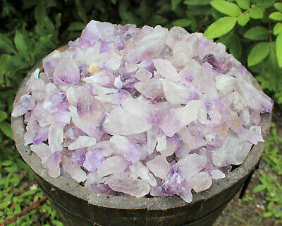 Wholesale CLEARANCE Amethyst Crystal Points, 500 Carat Lot Natural Rough Quartz