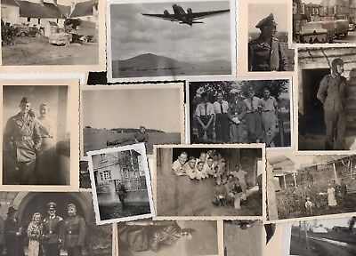 WWII Wehrmacht 15 photos allemandes lot divers 100% Orig WK2  1