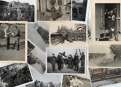 WWII Wehrmacht 15 photos allemandes lot divers 100% Orig WK2  3