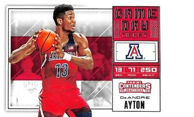 2018-19 Contenders Draft Basketball Game Day Tickets Singles - You Choose