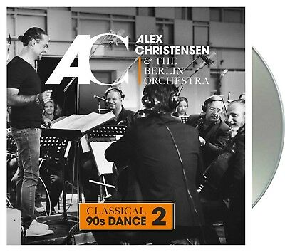 "Alex Christensen & The Berlin Orchestra ""classical 90's dance vol.2"" CD NEU 2018"