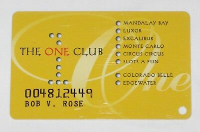 The One Club Players Card-Now Defunct-Slots a Fun/Monte Carlo/Excalibur & More