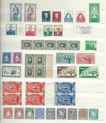 Ireland - Valuable Mid-Period Mm/n Collection On Stockpage -High Catalogue Value