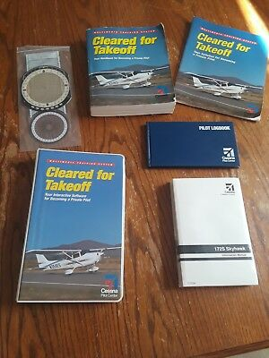 Cessna Cleared For Takeoff Flight Private Pilot Training Books DVD King Schools