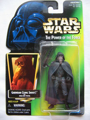 Star Wars POTF-2 - Garindan (Long Snot) Imperial Spy w. Hold Out Pistol