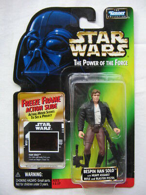 Star Wars POTF-2 - Han Solo Bespin with Heavy Assault Rifle
