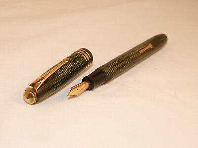 VINTAGE CONWAY STEWART No.36 FOUNTAIN PEN - LEVER FILL - LOVELY NIB - C1951