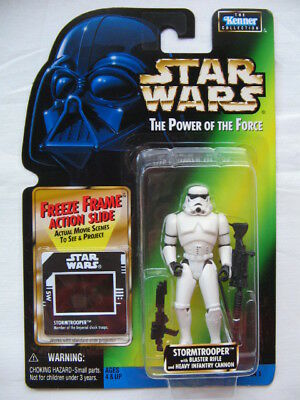 Star Wars POTF-2 - Srormtrooper with Heavy Infantry Cannon