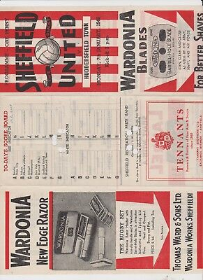 1945/46 F.A.Cup.Sheffield United v Huddersfield Town.