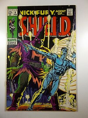 """Nick Fury, Agent of Shield #9 """"The Name of the Game is Hate!"""" Solid VG Condition"""